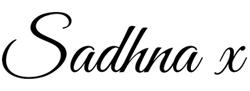 Sadhna-signture
